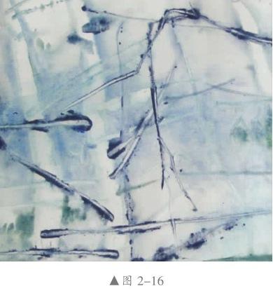 湿刮法水彩画
