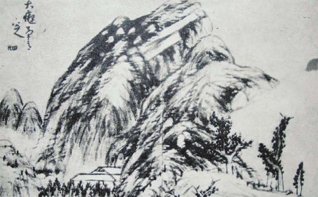 写意山水画