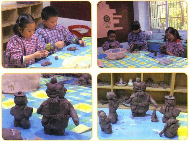 卖油翁美术雕塑