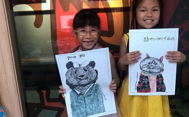 让孩子享受绘画的快乐