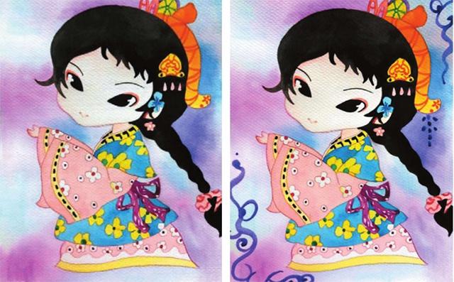 中国风漫画绘画步骤三
