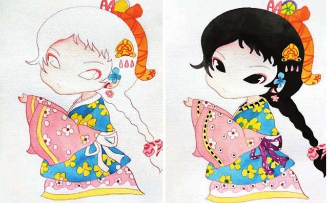 中国风漫画绘画步骤二