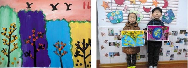 树儿童美术作品