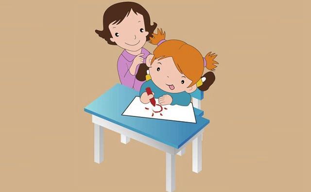 妈妈如何陪伴孩子绘画