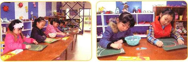 儿童在画画