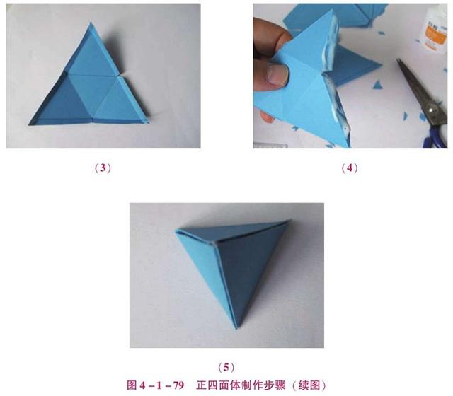 正四面体的制作步骤二
