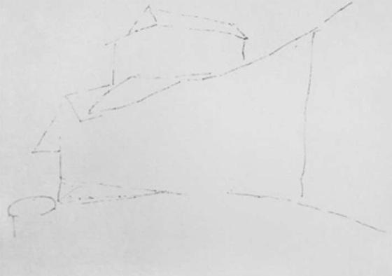 乡村农舍的画法(1)