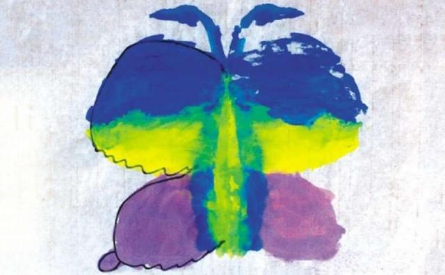 花蝴蝶儿童画