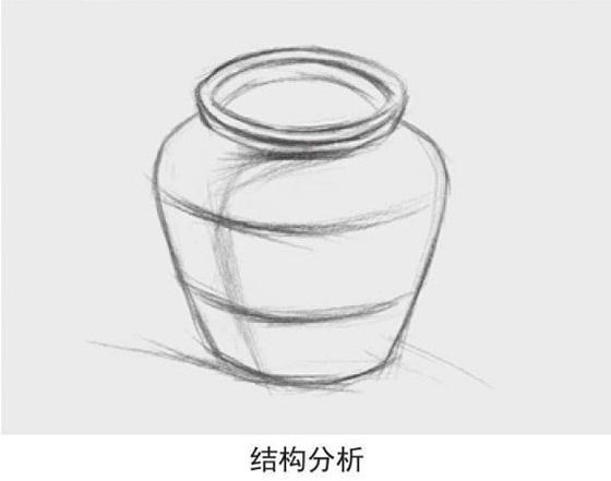 宽口陶罐结构分析