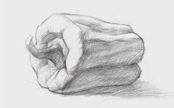 素描青椒的画法(2)