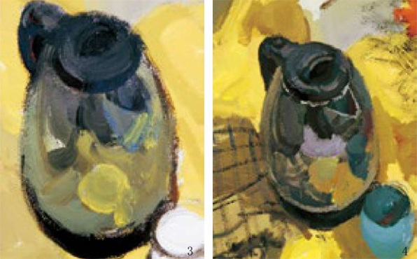 不锈钢水壶的画法(2)