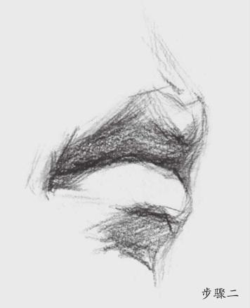 素描嘴巴怎么画(2)