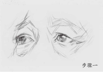 素描眼睛怎么画(1)