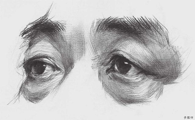 素描眼睛怎么画(4)