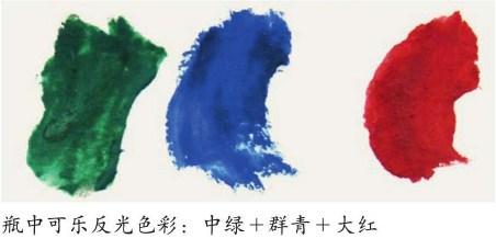 画可乐瓶所需要的的颜色(3)