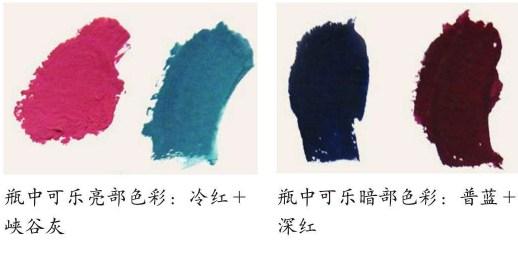 画可乐瓶所需要的的颜色(1)