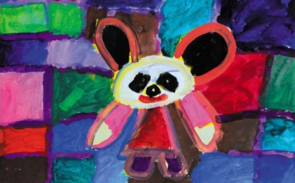 熊猫儿童画