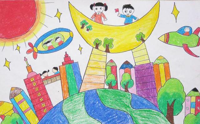 安妮菲哥少儿美术:和孩子一起画画,如何与孩子对话?
