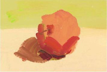 色彩红苹果的画法(3)