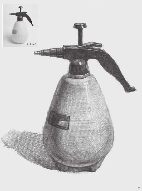 喷水壶的画法(4)