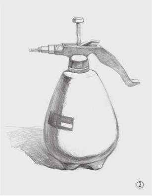 喷水壶的画法(2)