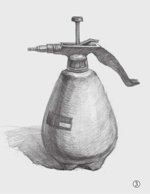 喷水壶的画法(3)