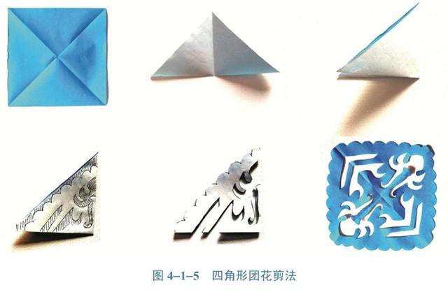 对称图形的剪法(3)