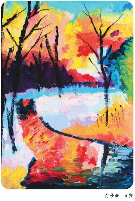 绘童年少儿美术系列教程-风景写生作品