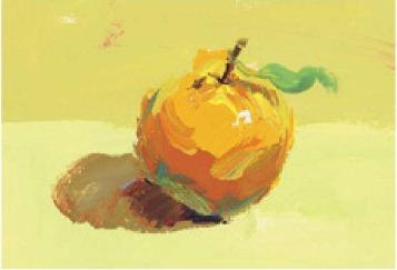 色彩橘子的画法(4)