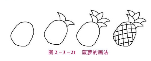 菠萝的画法