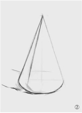 圆锥体结构怎么画(2)