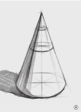 圆锥体结构怎么画(4)