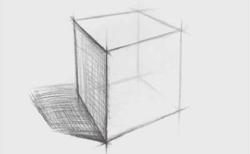 正方体结构怎么画(3)