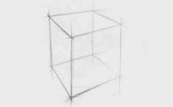 正方体结构怎么画(2)