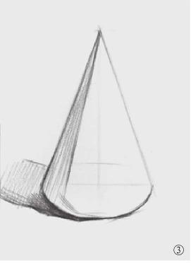圆锥体结构怎么画(3)