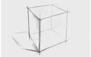 正方体结构怎么画(1)