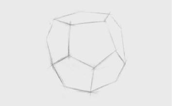 正三角形多面体的画法(1)