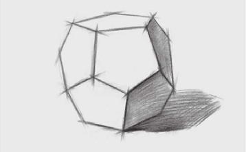 正三角形多面体的画法(4)