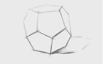 正三角形多面体的画法(2)