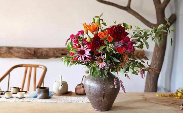 花瓶里的花