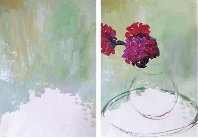 鸡冠花的画法(1)