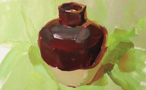 色彩陶罐的表现技法解析(7)