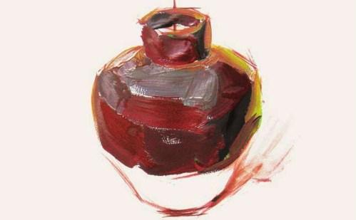 色彩陶罐的表现技法解析(4)