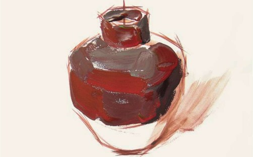 色彩陶罐的表现技法解析(3)
