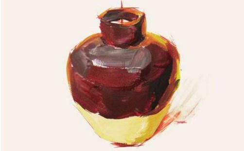 色彩陶罐的表现技法解析(5)