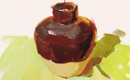 色彩陶罐的表现技法解析(6)