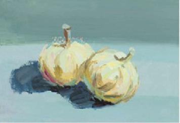 色彩蒜头的画法(4)