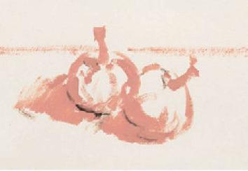 色彩蒜头的画法(1)