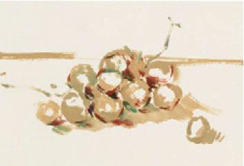 色彩葡萄的画法(1)