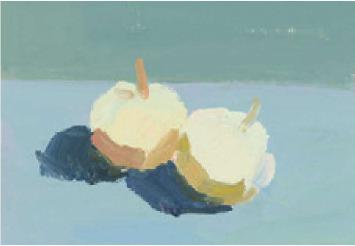 色彩蒜头的画法(2)